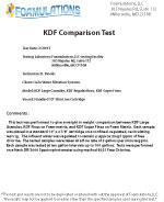 KDF comparison test